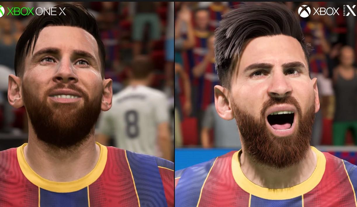 El increíble detalle del cabello de  Messi y las mejoras de FIFA 21