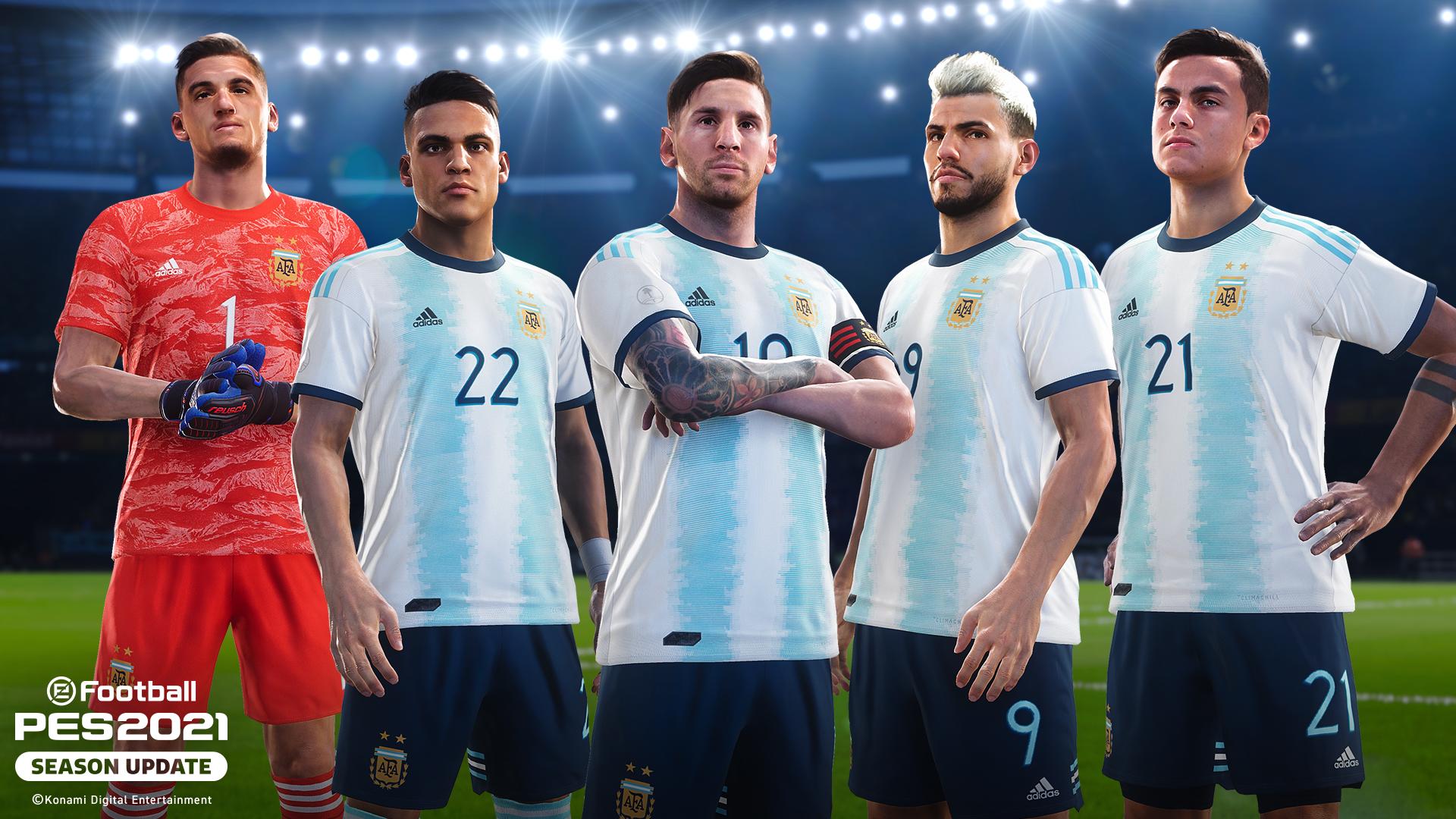 La Selección Argentina tiene nuevo sponsor: Konami y AFA sellan una alianza estratégica