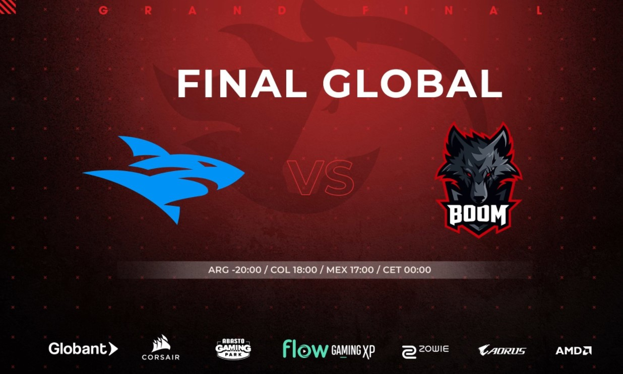 [FINAL] Isurus Gaming cayó con BOOM en la final global de Flow FireLeague