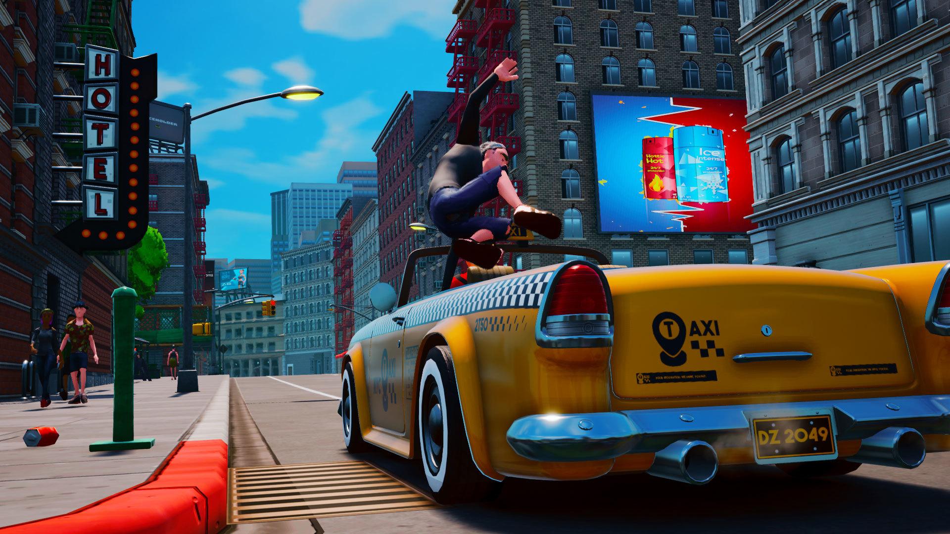 Taxi Chaos ya cuenta con fecha de lanzamiento y plataformas confirmadas