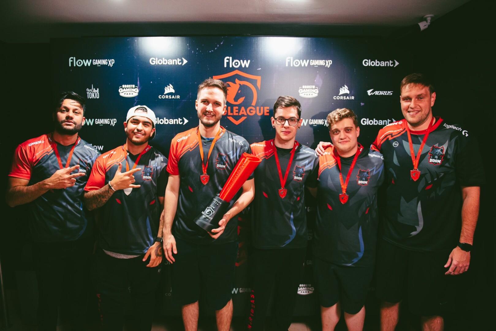 Flow FiReLEAGUE: BOOM se quedó con el campeonato latinoamericano de CS:GO