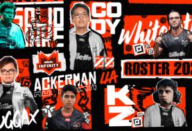Infinity Esports presentó su roster 2021 con muchas sorpresas y figuras consagradas
