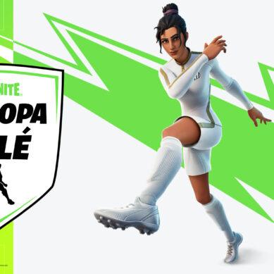 El fútbol llega a Fortnite con skins y la presencia de Pelé