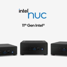 Intel actualizó sus NUC con los procesadores de 11ª generación