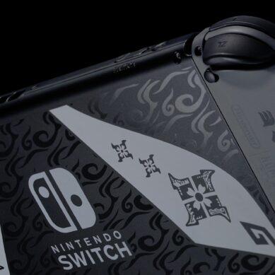 Nintendo y Monster Hunter Rise se unen para el lanzamiento de una consola especial