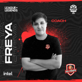"Freya, head coach de Intel New Indians, a horas del debut en la Liga Master Flow: ""Queremos estar a la altura de todos"""