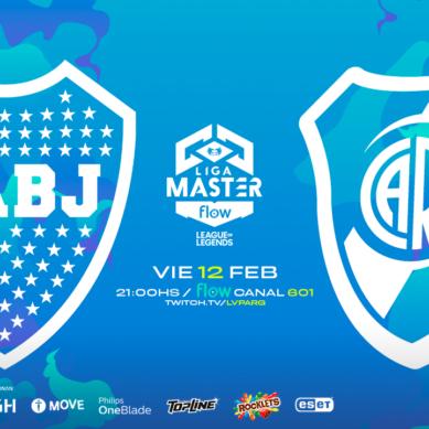 La Liga Master Flow tuvo el primer clásico entre Boca y River en el League of Legends