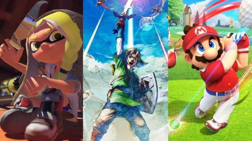 Splatoon 3, Skyward Sword HD, Mario Golf: todo lo que presentó Nintendo en el Direct de febrero