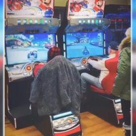 Joe Biden juega a Mario Kart, y lo hace bastante bien