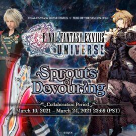 Dos exitosos juegos para móviles se unen en el evento Final Fantasy Exvius Universe