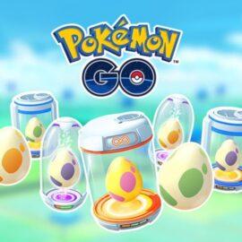 Pokémon GO dejará ver los pokémones que pueden nacer de los huevos