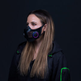 Razer confirmó que comercializar su mascarilla inteligente Project Hazel