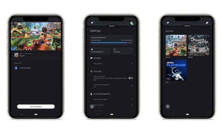 PS5 app
