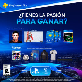PlayStation y la UEFA Champions League presentaron un concurso exclusivo