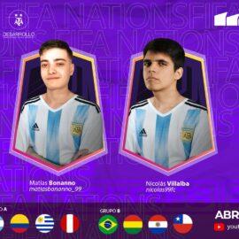 FIFA eNations Club: Argentina confirmó su equipo con Matías Bonanno y Nicolás Villalba