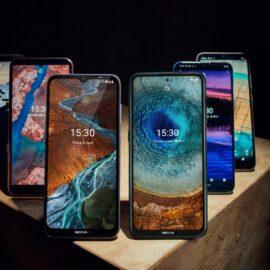 Nokia presentó seis nuevos teléfonos de las familias X, G y S