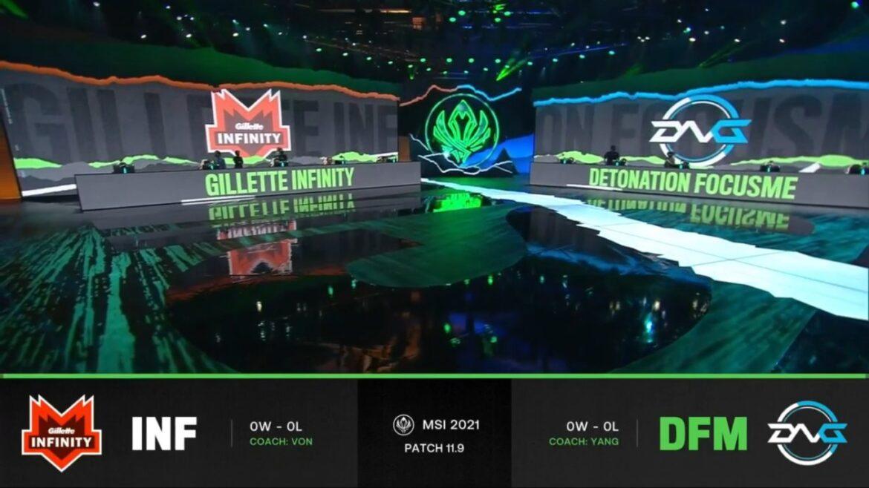 MSI 2021: Infinity Esports y paiN Gaming debutaron con victoria