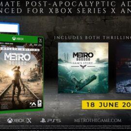 Metro Exodus Complete Edition: fecha de lanzamiento en PS5 y Xbox Series X