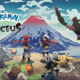 Pokémon Legends: Arceus se lanzará en enero de 2022