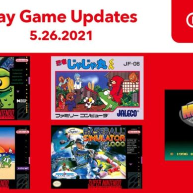 Nintendo Switch Online anuncia 5 nuevos juegos de SNES y NES con una perla: Joe & Mac