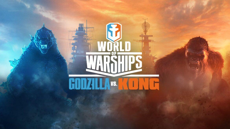Godzilla vs. Kong: Choque de titanes en World of Warships