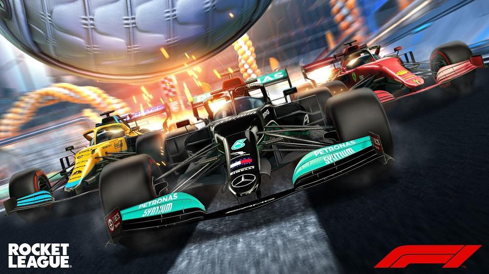 La Fórmula 1 se sube al furor de Rocket League