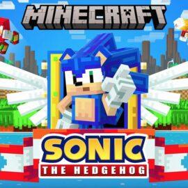 Sonic the Hedgeog cumplió 30 años y lo celebra en Minecraft