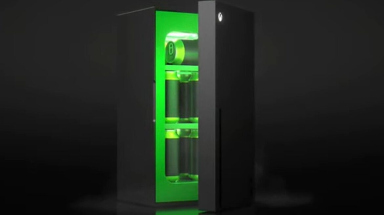 La mini heladera con forma de Xbox Series X: el meme que se transformó en realidad