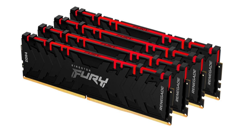 Kingston Fury: la nueva marca para las memorias DRAM, flash y SSD