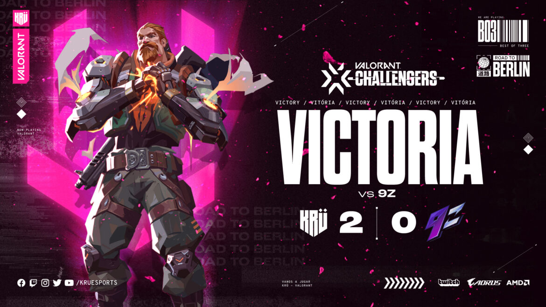 Valorant Challengers: KRÜEsports aplastó a 9Z y avanza en los playoff