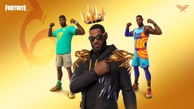 LeBron James se une a la serie iconos de Fortnite