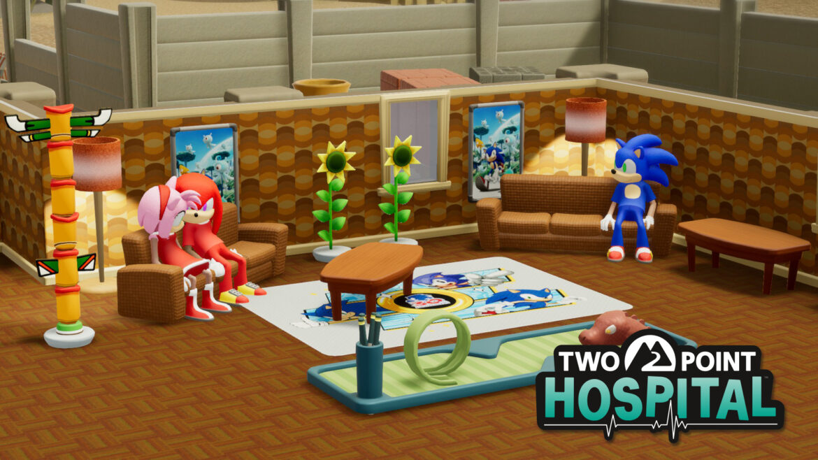 El crossover definitivo: Sonic se incorpora a Two Point Hospital