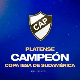 Copa IESA Sudamérica: Platense festejó su primer título internacional