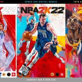 NBA 2K22 reveló sus portadas con el debut de Luka Doncic y Candance Parker