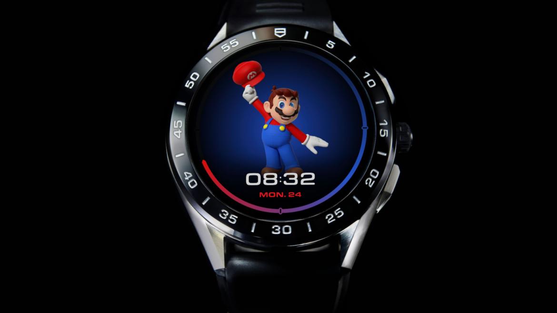 Tag Heuer Connected lanza un reloj exclusivo con Super Mario