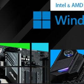 ASRock anunció sus motherboards compatibles con Windows 11