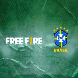 Free Fire es el nuevo patrocinador de la Selección Brasileña