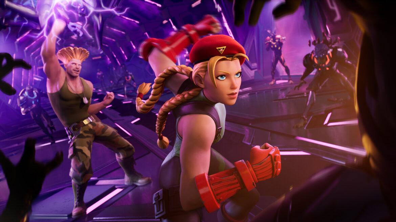 Nuevo crossover entre Fortnite y Street Fighter: Cami y Guille se suman al battle royale