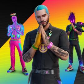 J Balvin confirmó su debut en Fortnite: skins, accesorios y gestos