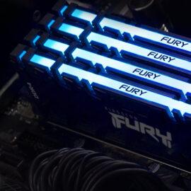 Kingston reveló sus nuevos productos: cómo son las memorias FURY y el disco SSD NV1