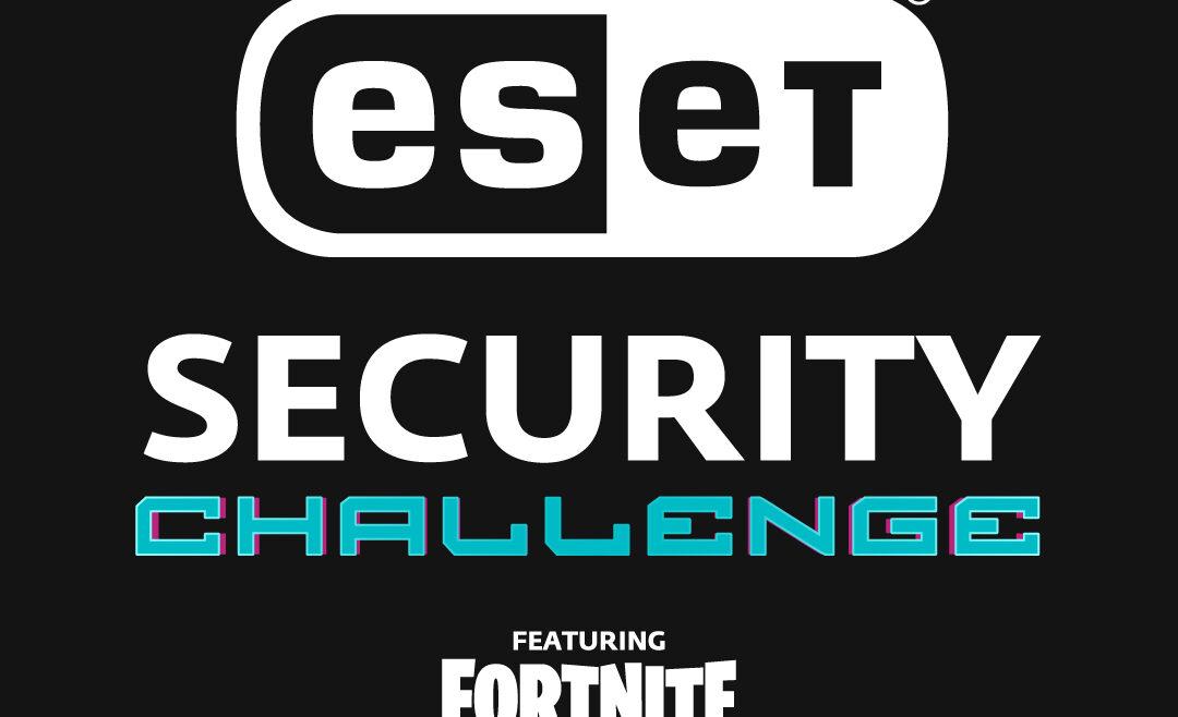 ESET Security Challenge: cómo formar parte del nuevo torneo de Fortnite