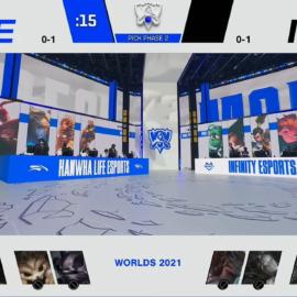 INFINITY quiere revancha en Worlds 2021: seguí en vivo el partido ante Hanwha Life