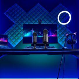 Razer anunció nuevos micrófonos para streamers: Seiren V2 Pro y Seiren V2 X