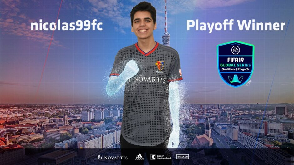 [FINAL] Nicolás Villalba gritó campeón en la Global Series de FIFA 19, el torneo previo a FIFA eWorld Cup